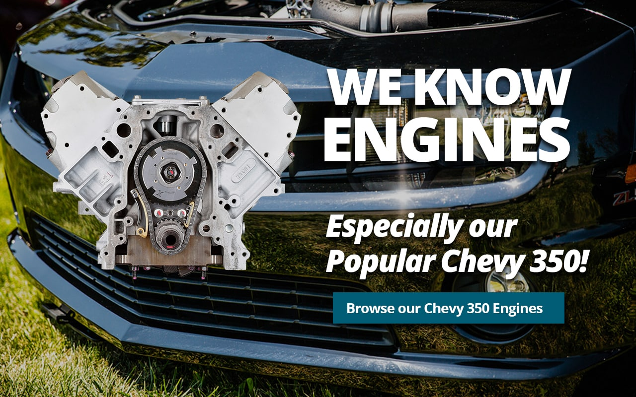 We KNOW Engines, especially our Popular Chevy 350!